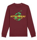 "FC De Kampioenen - Burgundy ""Kittecadeau"" Kerst Sweater"