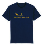 """FC De Kampioenen - Navy """"Bende Pottenstampers!"""" Unisex T-Shirt"""