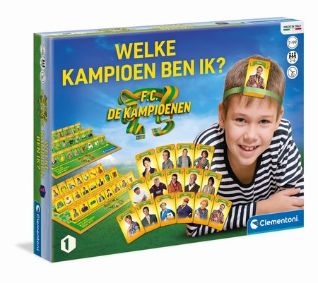 FC De Kampioenen - Bordspel Welke Kampioen Ben Ik?