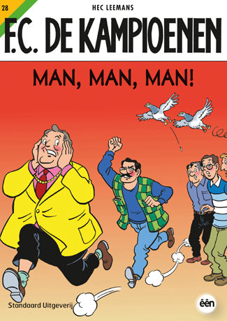 F.C. De Kampioenen 28 - Man, man, man!