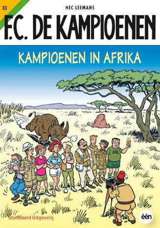 F.C. De Kampioenen 33 - Kampioenen in Afrika