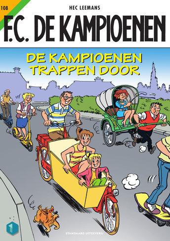 F.C. De Kampioenen 108 - De Kampioenen trappen door