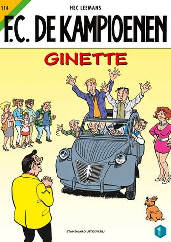 F.C. De Kampioenen 114 - Ginette