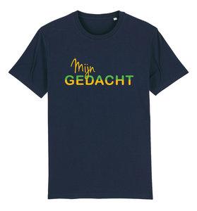 """FC De Kampioenen - Navy """"Mijn Gedacht"""" Unisex Shirt"""