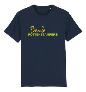 """FC De Kampioenen - Navy """"Bende Pottenstampers!"""" Unisex Shirt"""