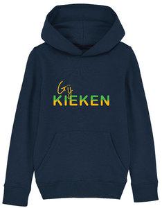 """FC De Kampioenen - Navy """"Gij Kieken"""" Kids Hoody"""