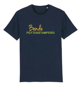 """FC De Kampioenen - Navy """"Bende Pottenstampers!"""" Kids Shirt"""