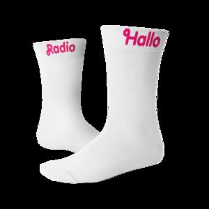 "FC De Kampioenen - Sokken ""Radio Hallo"""