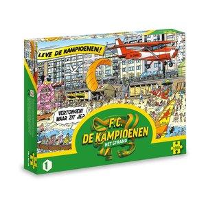 """FC De Kampioenen - Puzzel """"Het Strand""""1000 stukjes"""