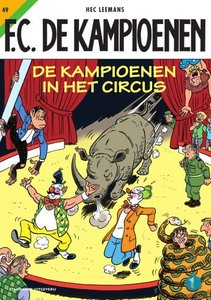 F.C. De Kampioenen 49 - De kampioenen in het circus
