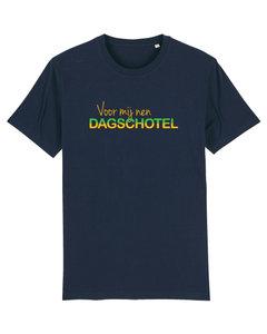 """FC De Kampioenen - Navy """"Voor Mij nen Dagschotel"""" Unisex Shirt"""