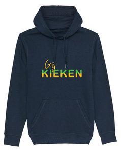 """FC De Kampioenen - Navy """"Gij Kieken"""" Unisex Hoody"""