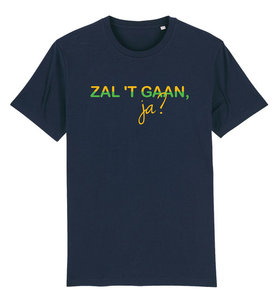 "FC De Kampioenen - Navy ""Zal 't gaan ja?"" Kids Shirt"