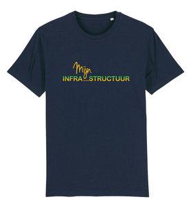 """FC De Kampioenen - Navy """"Mijn Infrastructuur"""" Kids Shirt"""