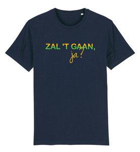 "FC De Kampioenen - Navy ""Zal 't gaan ja?"" Unisex T-Shirt"