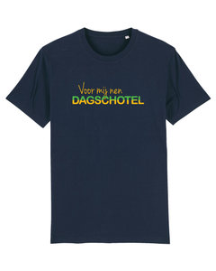 """FC De Kampioenen - Navy """"Voor Mij nen Dagschotel"""" Shirt"""