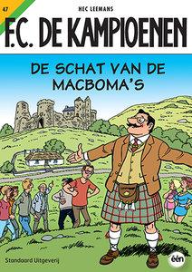 F.C. De Kampioenen 47 - De schat van de Macboma's